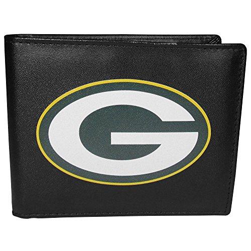 Siskiyou NFL Green Bay Packers Bi-Fold Wallet Logo, Large, Black