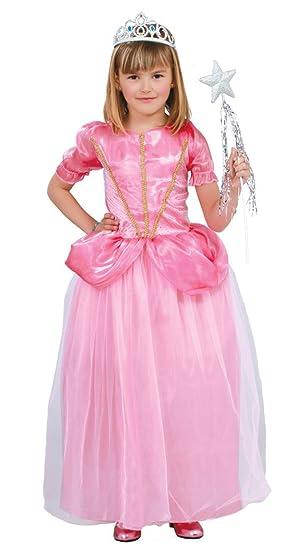 Guirca - Disfraz de princesa, talla 5-6 años, color rosa (81856 ...