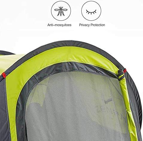 HWY-HW Tente de Camping en Plein air, entièrement Automatique et Plage d'ouverture Rapide Tente, 100% Tente de Camping étanche Cousues for la Plage Groundsheet,Tente