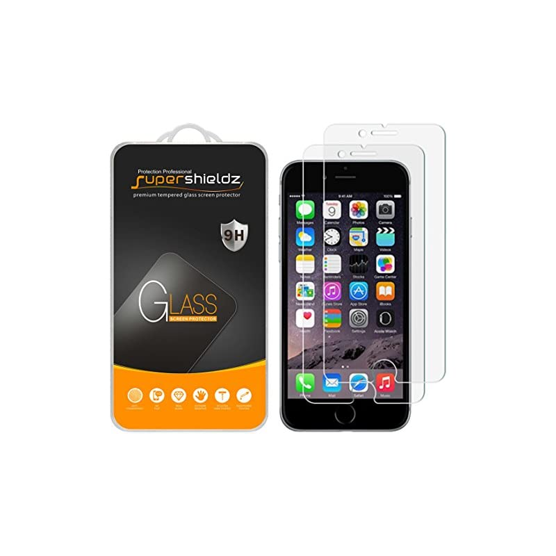 [2-Pack] Supershieldz for iPhone 8/ iPho