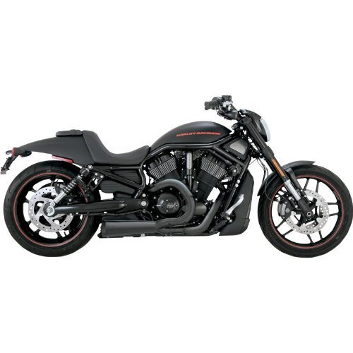 Vance and Hines Competition Series 2-Into-1 Full System Exhaust for Harley Davi - One Size Quiet Series Exhaust System