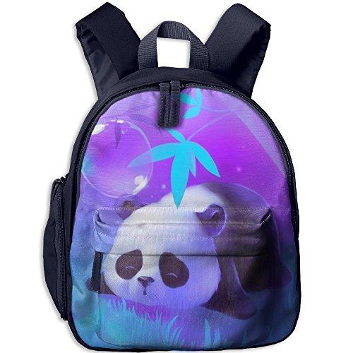 HYF Kids Cute Little Panda Snack Backpack Children Preschool Mini Rucksack Lunch Boxes Carry Bag (Winged Heart Handbag)