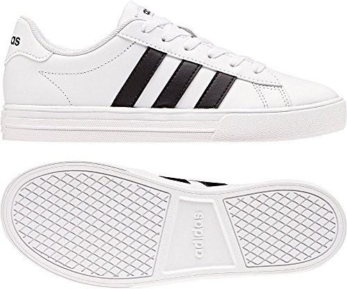 adidas Daily 2.0 K, Zapatillas de Deporte Unisex Niños Blanco (Ftwbla / Negbas / Ftwbla 000)