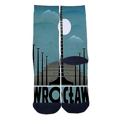 Amazon.com: Calcetines personalizados de Polonia Wratislavia ...