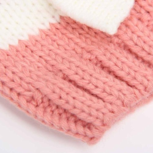 Wool Hat Baby Crochet per Knitting 12 Amlaiworld mesi Rose 0 IXwIq0