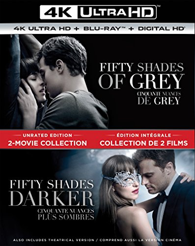 Fifty Shades of Grey / Fifty Shades Darker 2-Movie Collection [Blu-ray] (Sous-titres français) Canada (Shades 50 2 Grey Of)