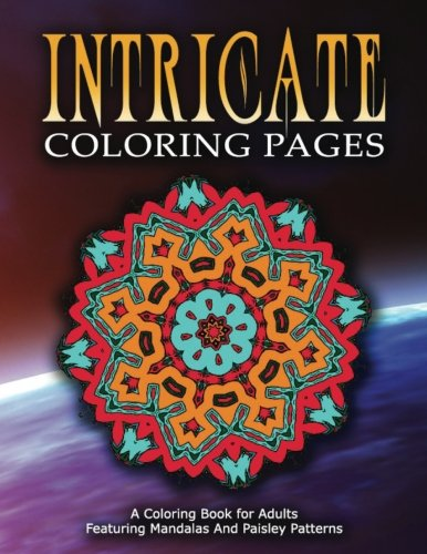 INTRICATE COLORING PAGES - Vol.1: Coloring Pages For Girls (Volume 1)