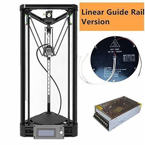 MHX Rostock Delta 3D Printer - 180 x 180 x 300 mm
