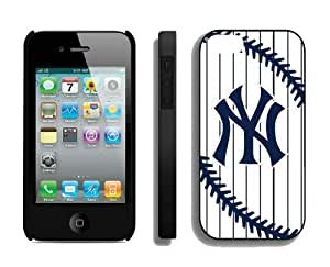 Cheap Apple Iphone 4s Case MLB New York Yankees Personalized Iphone 4 Cellphone Protector