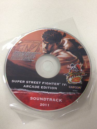 Price comparison product image Limited Edition 25th Anniversary Super Street Fighter 4 Arcade Edition Sound Track