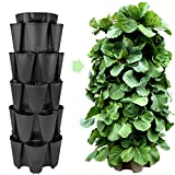 Huge GreenStalk 5 Tier Vertical Garden Planter w/Patented Internal...