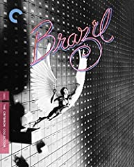 In the dystopic masterpiece Brazil, Jonathan Pryce (Glengarry Glen Ross) plays a daydreaming everyman who finds himself caught in the soul-crushing gears of a nightmarish bureaucracy. This cautionary tale by Terry Gilliam (Fear and Loathing i...