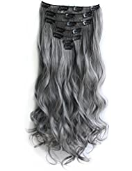 Amazon grey hair extensions extensions wigs product details pmusecretfo Gallery