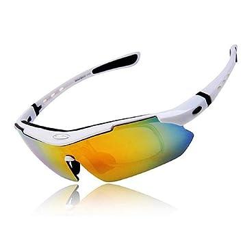 LAIABOR Ciclismo Gafas polarizadas Gafas de protección UV Gafas de ...