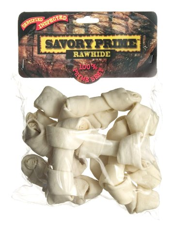 Savory Prime Small Bone Value Pack, White, My Pet Supplies