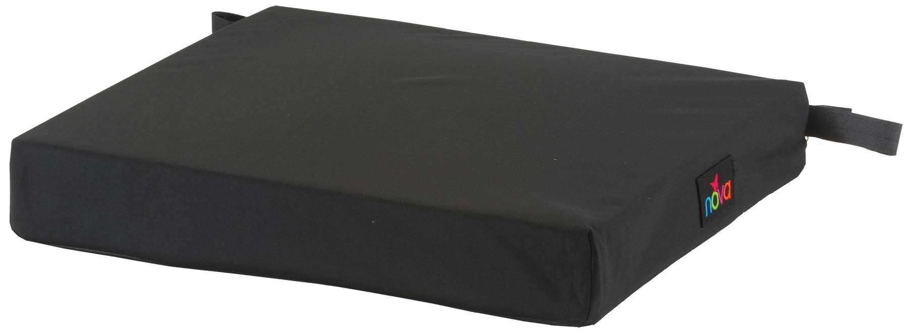 NOVA Gel & Memory Foam Seat & Wheelchair Cushion in 8 Sizes (from 16'' x 16'' to 18'' x 24'' Extra Wide), Comfortable & Durable Everyday Seat Cushion with Removable Water Resistant Cover, 2'' or 3'' Thick by NOVA Medical Products