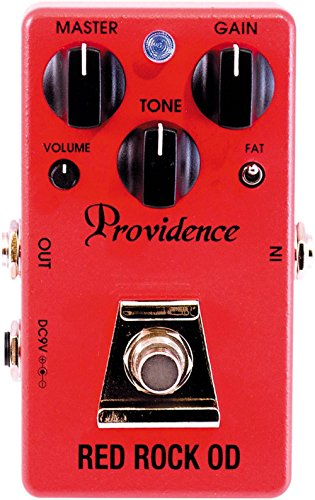 Providence Red Rock OD / Overdrive Effects Pedal (Best Overdrive Pedal For Rock)