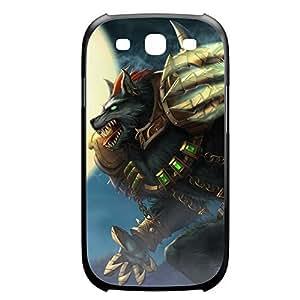 Warwick-005 League of Legends LoL case cover Iphone 4/4S Plastic Black