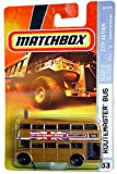 55th Anniversary Matchbox Routemaster Double Decker Bus Bronze Old style wheels scale 1/64 2008
