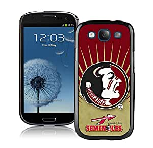 Unique Samsung Galaxy S3 I9300 Screen Case ,Popular And Durable Designed Case With NCAA Atlantic Coast Conference ACC Footballl Florida State Seminoles 2 Black For Samsung Galaxy S3 I9300 Phone Case Great Quality Cover Case