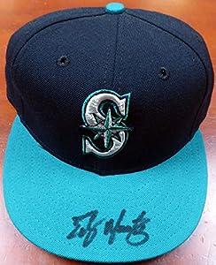 Edgar Martinez Autographed Seattle Mariners New Era Hat MCS Holo Stock #115048