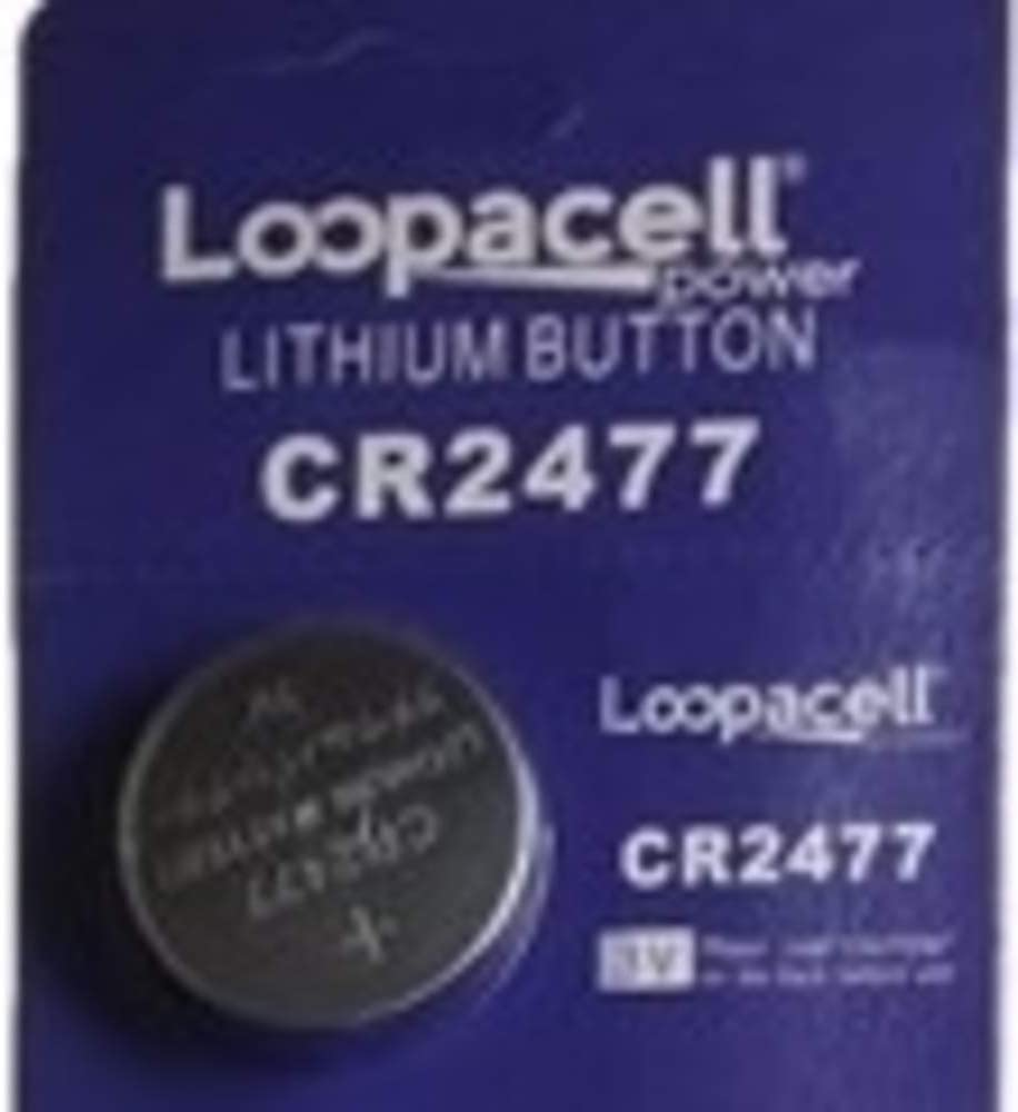 Pack of 1 Loopacell CR2477 3V Lithium Cell Batteries