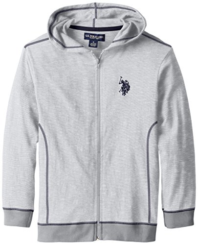 us-polo-assn-big-boys-space-dyed-cotton-jersey-zip-up-hoodie-medium-grey-10-12