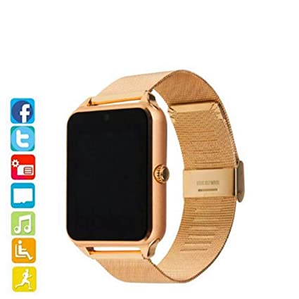 HCWF Smart Watch Plus Correa metálica Bluetooth Reloj de ...