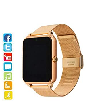 HCWF Smart Watch Plus Correa metálica Bluetooth Reloj Smartwatch ...