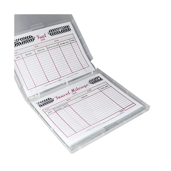 UniKeep Vehicle Record Organizer And Maintenance Log