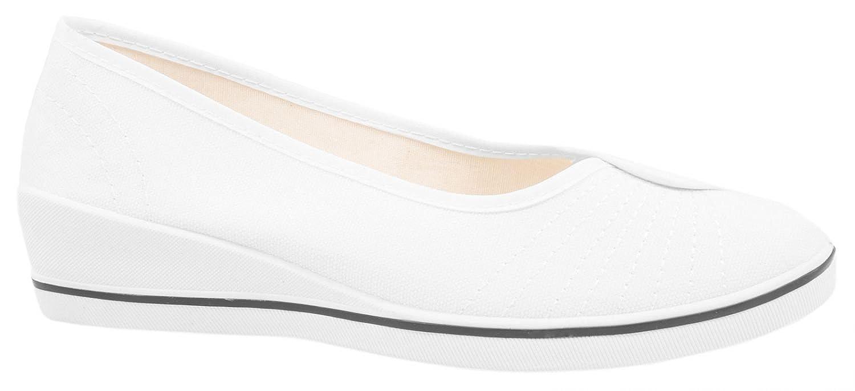Elara - bailarinas Mujer , color blanco, talla 37 EU