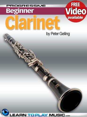 Free Jazz Clarinet Music (Clarinet Lessons for Beginners: Teach Yourself How to Play Clarinet (Free Video Available) (Progressive)