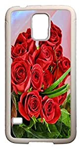 Blueberry Design Galaxy S5 Case Red Bouquet Roses Flowers Design