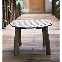Cambridge Casual Grey Mahogany Renley Adirondack Side Table