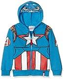 Marvel Boy's Avengers Characters Head Sweatshirt