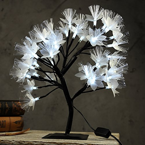 Fibre Optic Tree With Led Lights