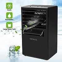 MZTDYTL Mini Portable Desktop Small Evaporative Air Cooler Circulator Humidifier