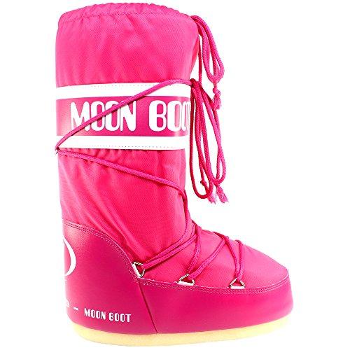 Womens Tenica Moon Boot Original Winter Snow Watperoof Nylon Boots - Fhia - 3-6.5