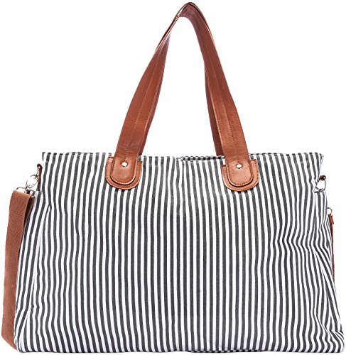 Stripe Baby Diaper Bag - 6