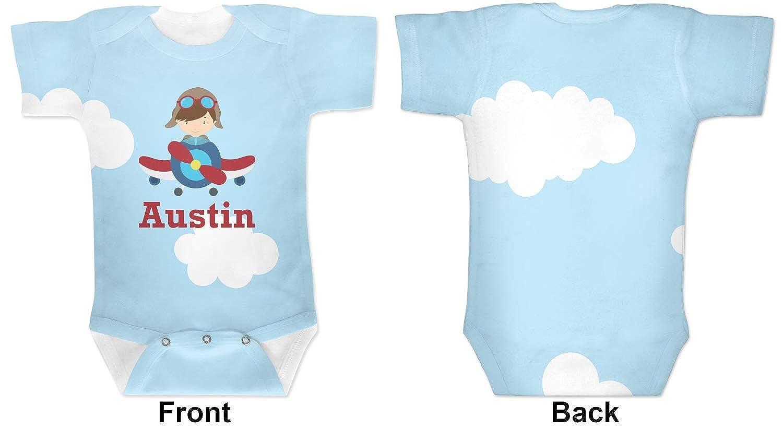 Amazon.com: Avión y piloto pijama para bebé (personalizado ...