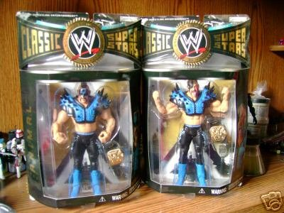 WWE Classics LOD Series 6 Animal and Hawk Figures by WWE