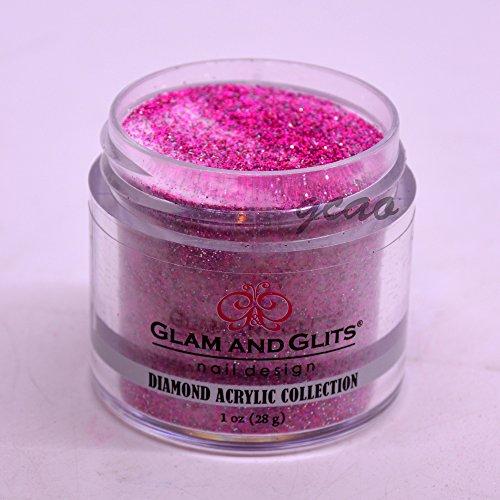 Glam Glitter - Glam Glits Acrylic Powder 1 oz Pink Pumps DAC51