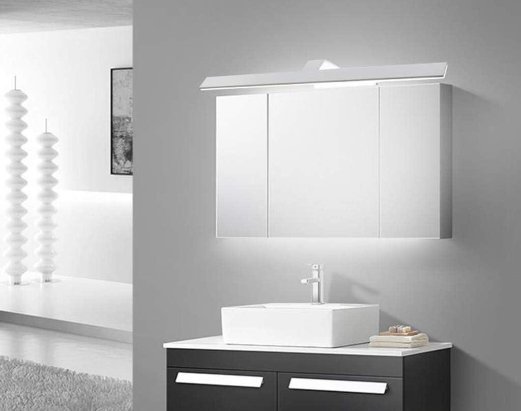 &Spiegelleuchte Spiegel Frontleuchte Moderne minimalistische LED Acryl Spiegelschrank Licht (43-120cm) (Farbe : Weißes Licht-24W/120CM) Warmes Licht-6w/43cm