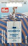 Doppel-Nähmaschinennadel 130/705 Stretch 75/4,0 mm
