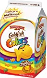 Pepperidge Farm Goldfish Snack Crackers, Colors, Cheddar Taste