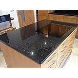 """VViViD Black Galaxy Granite 15.9"""" x 60"""" vinyl contact paper wrap (3 rolls)"""