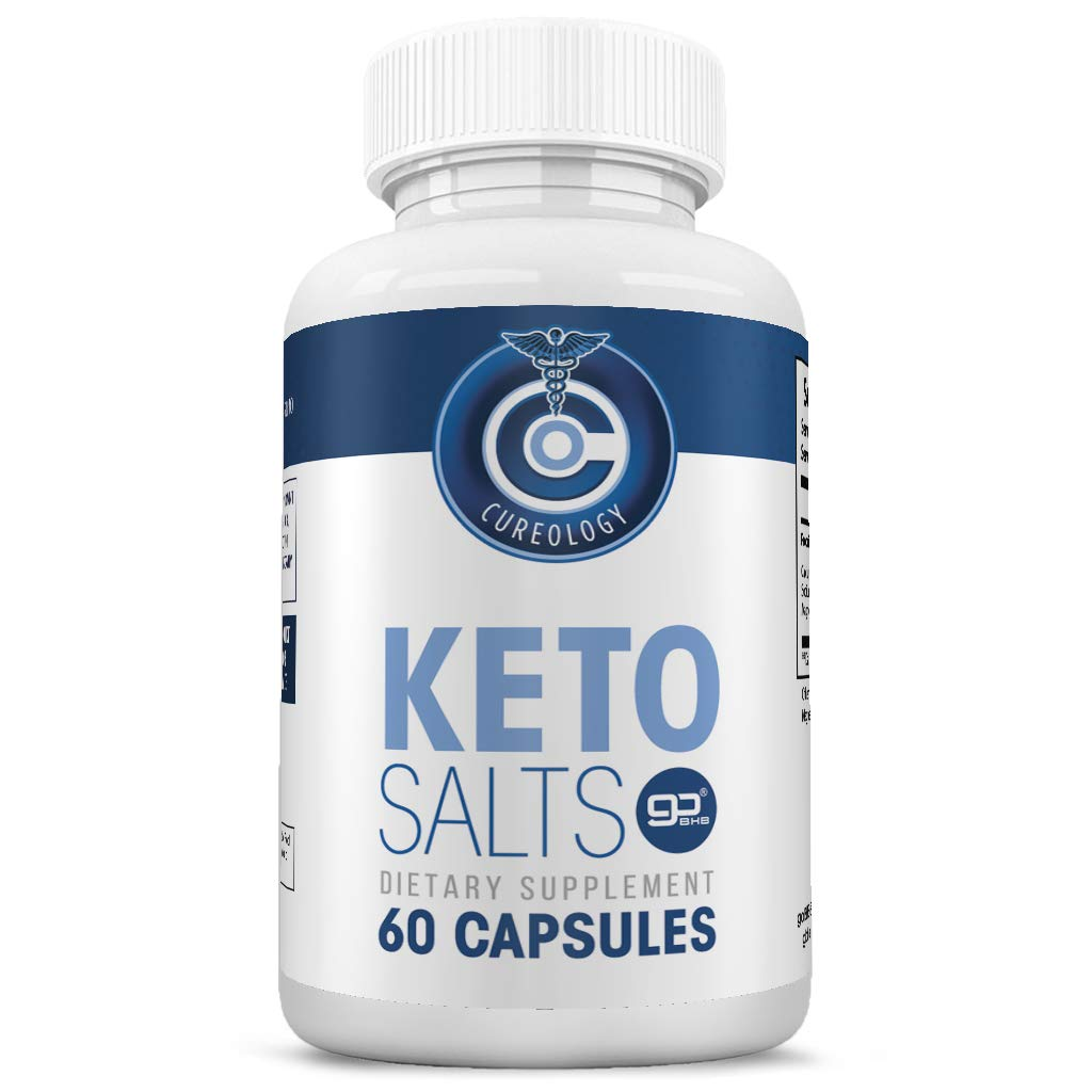Keto Pills for Weight Loss - Weight Loss Pills - Appetite Suppressant for Women and Men - Burn Fat Fast - goBHB - Keto Salts - 60 Caps by Nature Driven