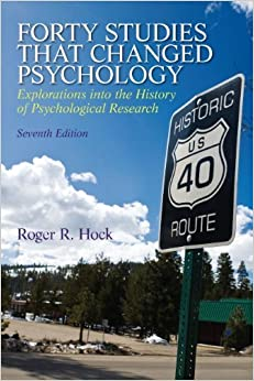 Book Forty Studies That Changed Psychology by Roger R. Hock Ph.D. (22-Jul-2012)