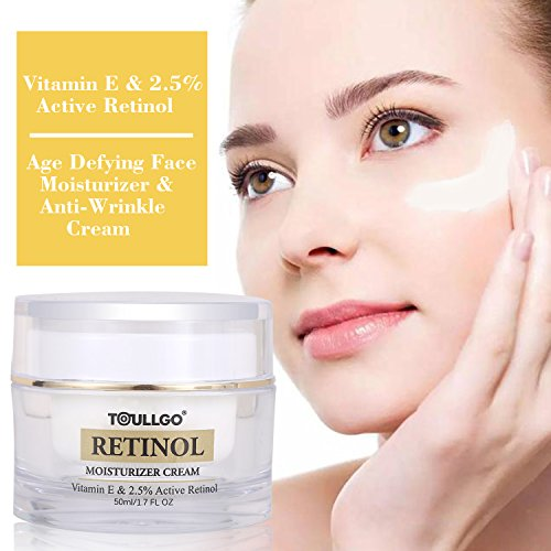 - Retinol Cream, Retinol Cream Moisturizer, Anti Aging Face Cream Retinol, Hyaluronic Acid, Vitamin E