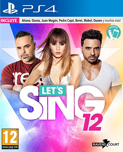 Lets Sing 12 Version Española – PS4 ESP